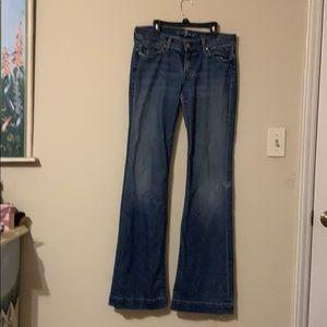 7 for all man kind sz29 Dojo Jeans